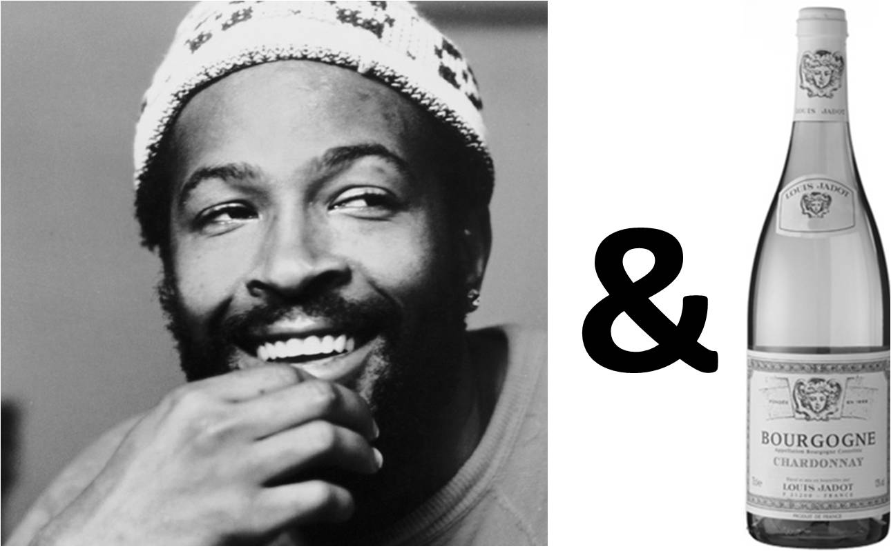 Marvin gaye and chardonnay